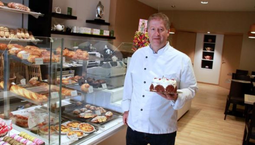 CHirsitan Duployez and his cakes from the past is a perfect conclusion to this royal visit