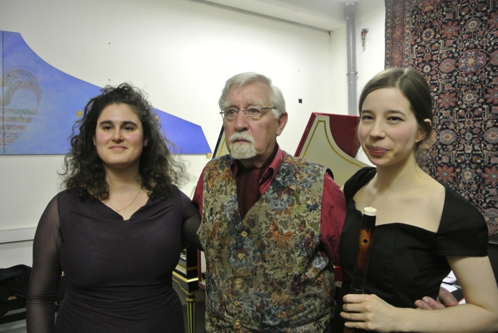 Lilian Gordis, Reinhardt von Nagel and traverse player Johanna Bartz