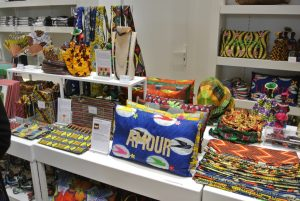 Valérie Schumberger's selection of gifts in the museum shop