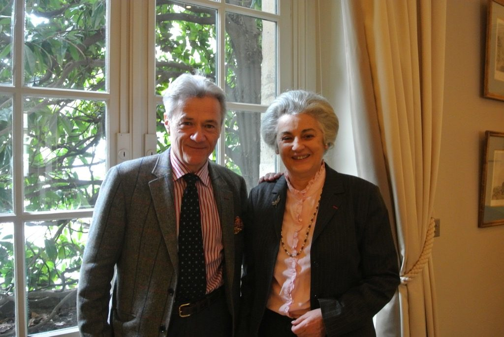 Alain de Gourcuff, the happy publisher with the author, Sylvie Patin, a great specialist of Monet