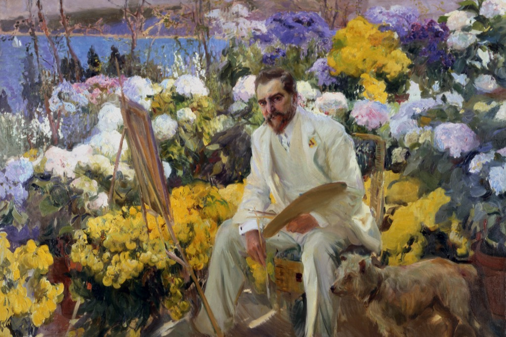 Louis Comfort Tiffany by Joaquin Sorolla, 1911, Courtesy of the Hispanic Society of America, New York