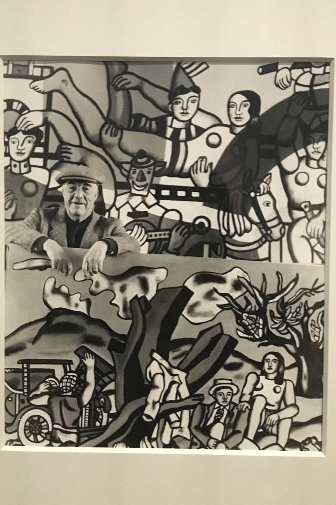 Fernand Léger photographed by Robert Doisneau