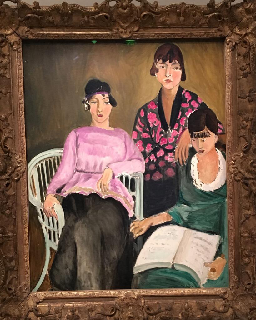 Matisse, Les Trois soeurs, 1916-1917