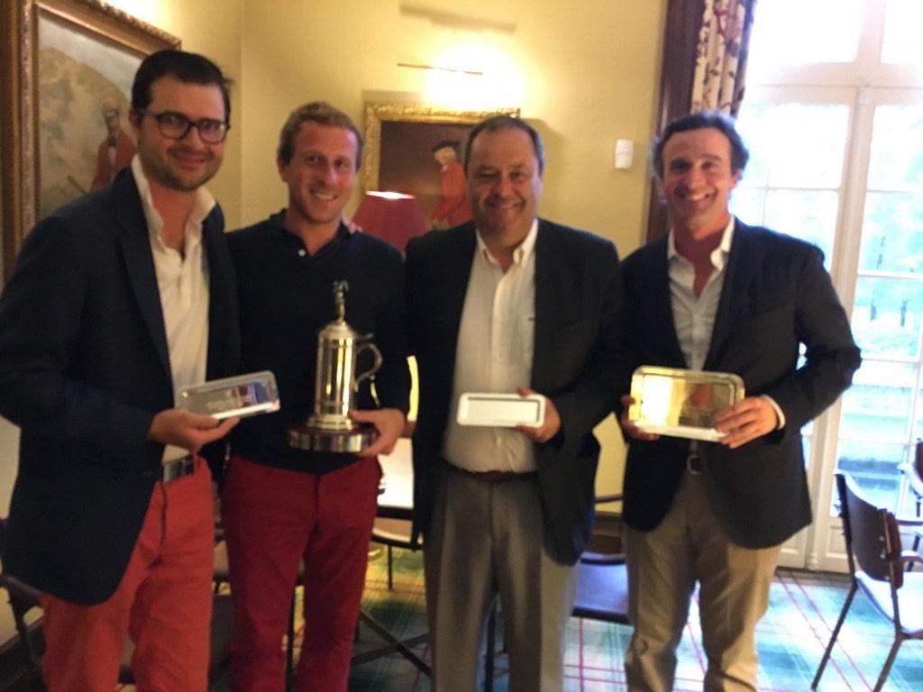 Vincent Illouz, Clément Lemaire, François Illouz and Antoine Delon