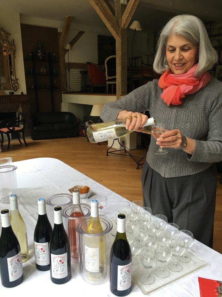 Claire de Montesquiou has developed white rosé and red along her armagnac at Espérance
