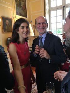 Sarah Dupuy and Pierre de Rohan Chabot