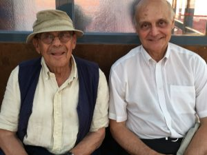 Anani Yanachev, Christo' s brother and Jacques Lagarrigues, a neurosurgeon from Toulouse