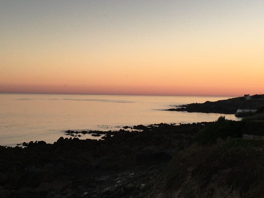 Sunset on cap Sizun