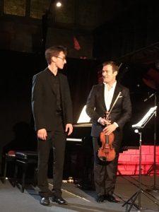 Guillaume Bellom and Renaud Capuçon were magical