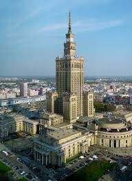The PKin tower built by Stalin is an omnipresent reminding of the Russian historical enemy