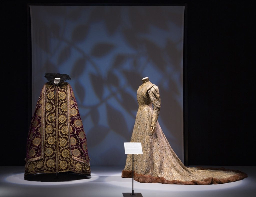 The Worth cape and the Byzantine dress worn at her daughter's wedding at the Madeleine showed how lavish the Countess's look could be