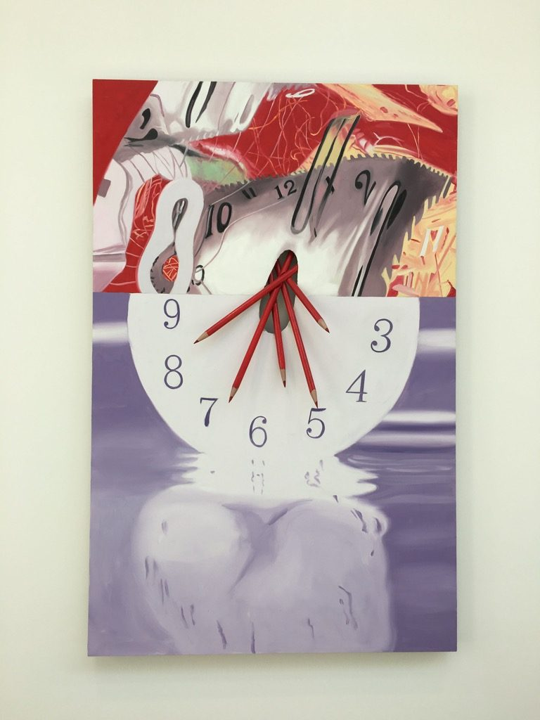 James Rosenquist, The hole in the center of the clock-Time Keeper, 2008