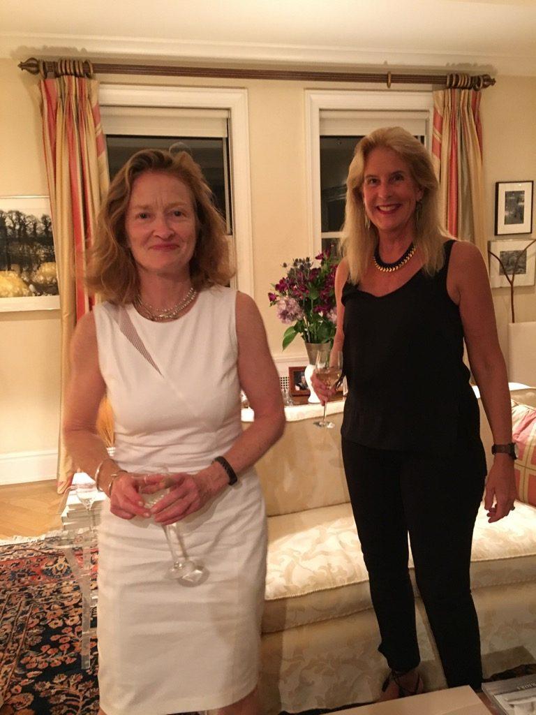 Nan Graham from Scribner, and sculptor Bunny Beekman