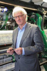 Olivier Noyon, runs a lace factory near Calais