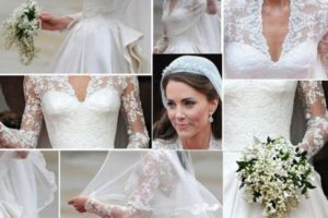 Kate Middleton's wedding dress was made with Calais Caudry lace