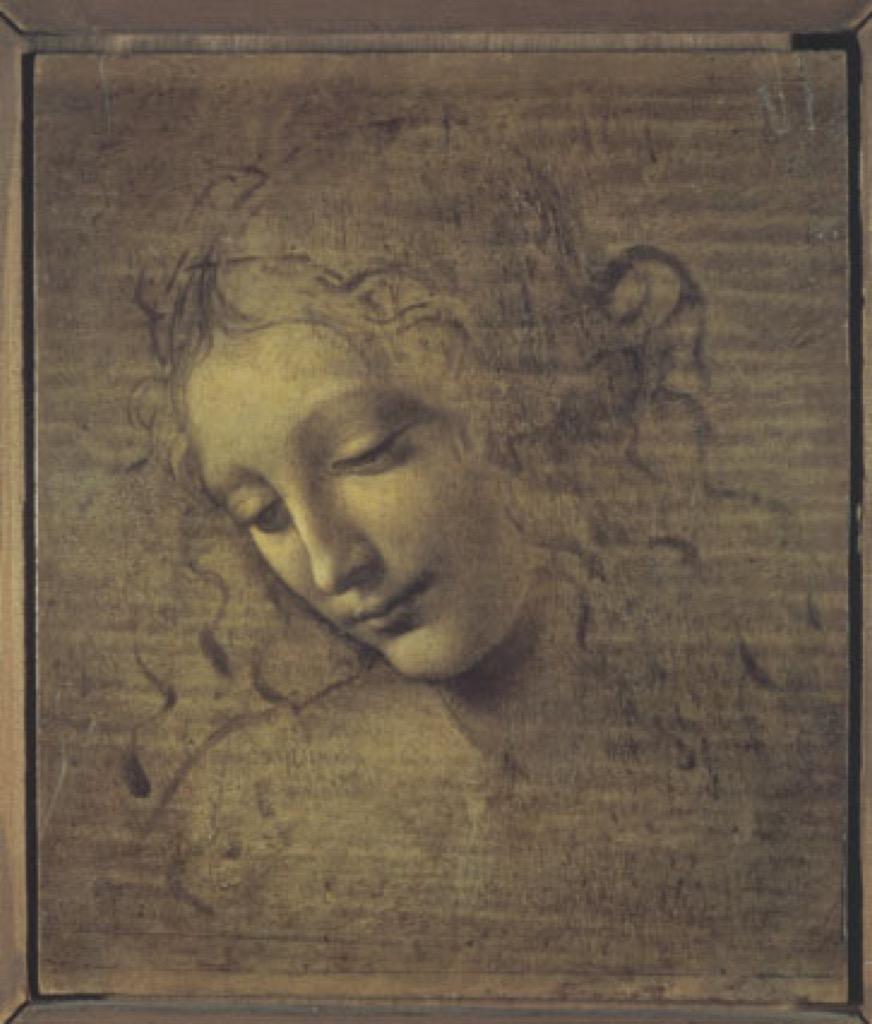 Leonardo da Vinci, La Scapigliata,