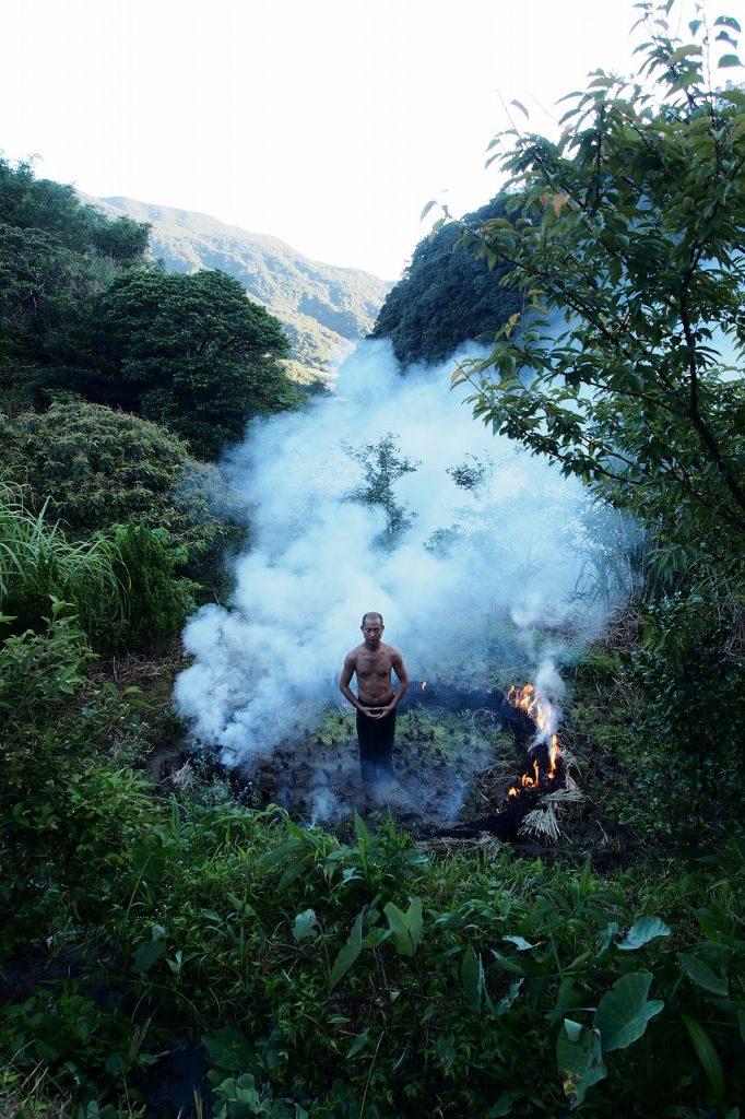 Lin Chuan-Chu, Earth Water Fire Air, 2012