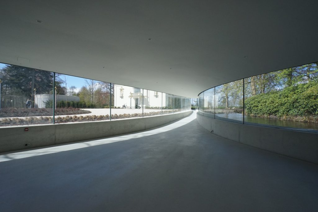 Lecture hall in park groot junya ishigami associates
